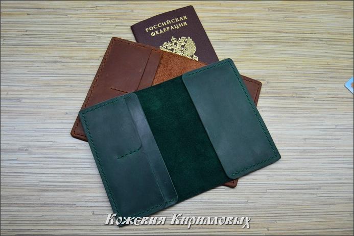 Обложки для паспорта ручной работы
